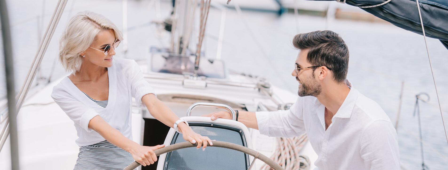 Фото - Романтическая прогулка на яхте