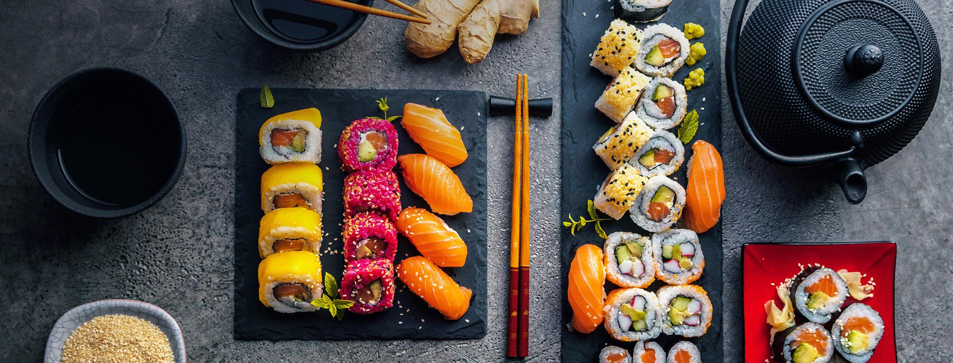 Фото - Майстер-клас суші для компанії