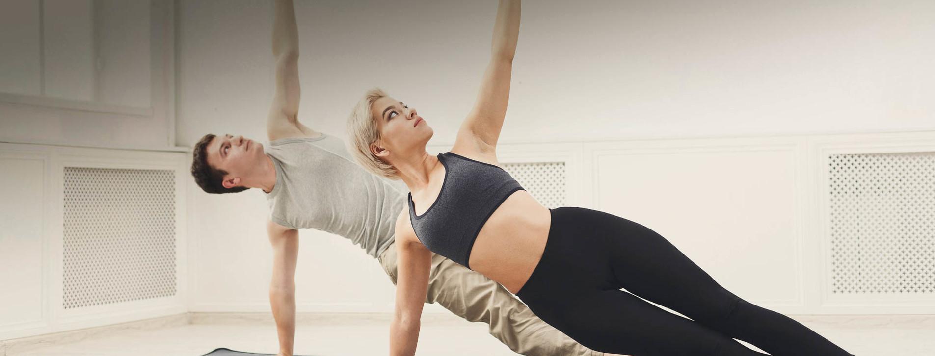 Фото - Горячая йога в группе для двоих