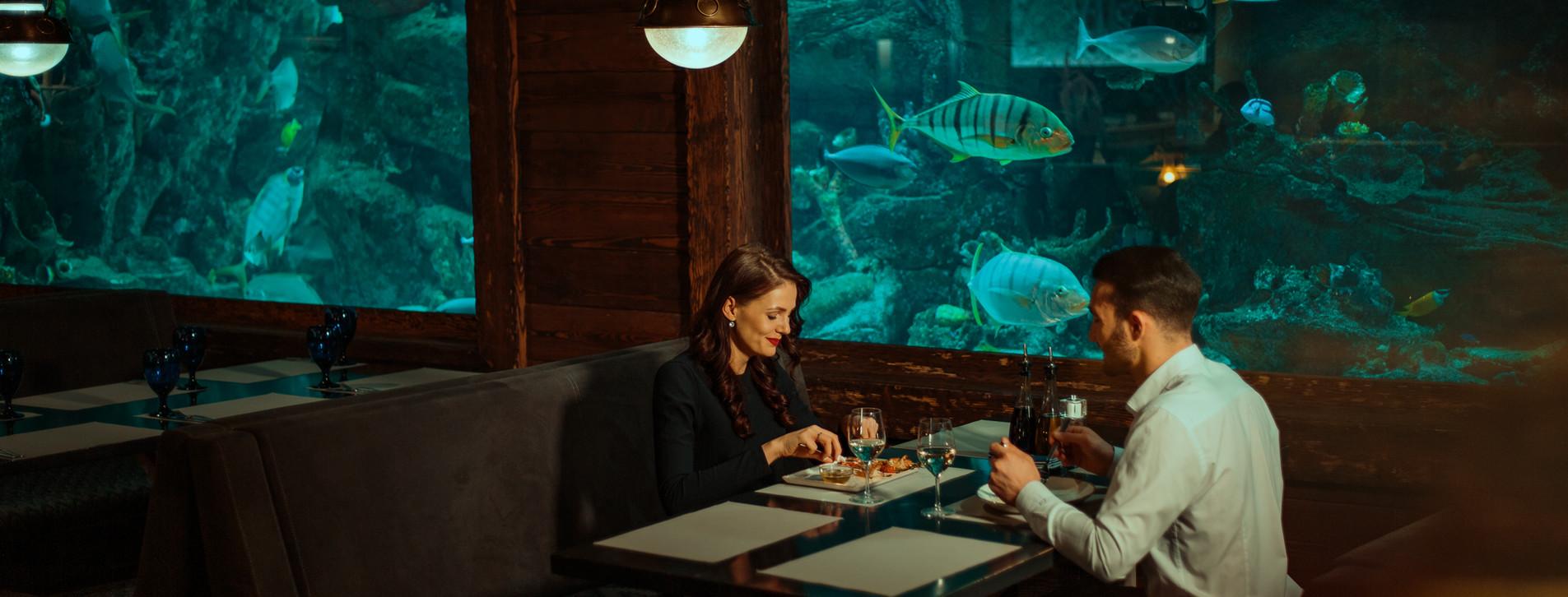 Фото - Ужин в рыбном ресторане